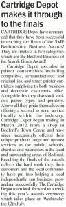 Article published in June 2017 edition of The Mid Beds Bulletin (page 9)