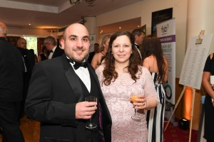 Vincenza & Guy enjoying the Awards Ceremony
